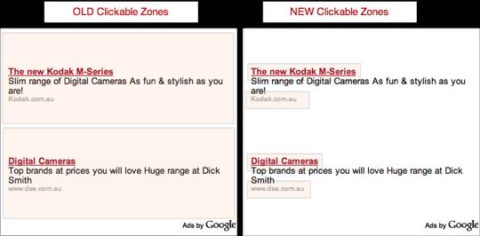 AdSense Click Zone